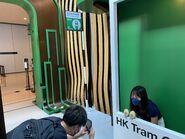 Hong Kong Tramways World Record Pop-Up Store people take photo with tram picture 21-08-2021(1)