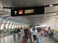 West Kowloon Station footbridge 1