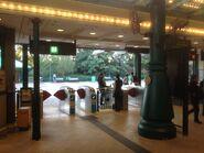 Disneyland Resort exit gate