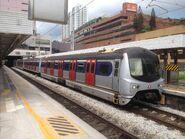 MLR train in Sha Tin Station East Rail Line 06-06-2015
