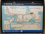 MTR Route Map before Tuen Ma Line Phase 1 open 01-02-2020