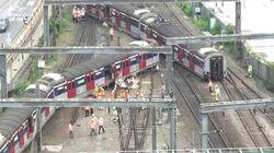 港鐵列車紅磡站出軌(立場直擊)