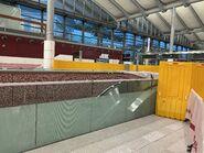 Hung Hom escalator to new platform 23-10-2020