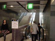 Sai Ying Pun to Exit B2 escalator 29-03-2015