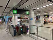 Hung Hom entry gate 27-06-2021