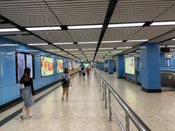 Kowloon Tong Kwun Tong Line concourse 13-10-2021.JPG