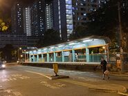 MTR Light Rail Yau Oi stop 28-08-2021