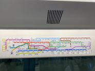 MTR Route Map update from 14-02-20120