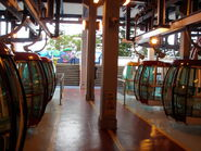 OP cable car stn UP inside