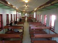 Hong Kong Railway Museum train compartment