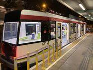 MTR Light Rail train car 1212 28-08-2021