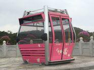 Ngong Ping 360 sample cable car for take photo 1