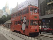 Hong Kong Tramways 43(145) Kennedy Town to Happy Valley 09-06-2016