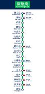 觀塘綫直立路綫圖