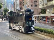 Hong Kong Tramways 57(133) to Causeway Bay 22-08-2021