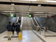 Kai Tak to Exit B escalator 14-02-2020