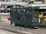 Hong Kong Tramways 140(117) Shek Tong Tsui to North Point 17-08-2020