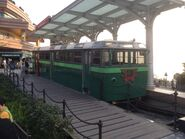 Old Peak Tram for customer service counter 4