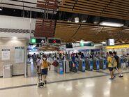 Sheung Shui exit gate 13-07-2020