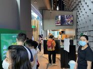 Hong Kong Tramways World Record Pop-Up Store people play game 21-08-2021(3)