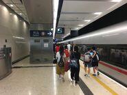Hong Kong West Kowloon platform 10-07-2019