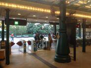 Disneyland Resort exit gate 02-01-2017