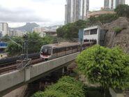 C Train Kwun Tong Line to Tiu King Leng 24-06-2015