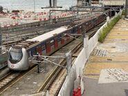 D374-D373 MTR Tuen Ma Line 27-06-2021