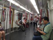 Tseung Kwan O Line compartment 01-07-2015