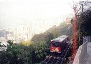 Peak Tram in 2000
