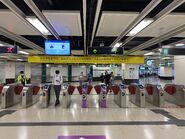 East Tsim Sha Tsui exit gate 31-03-2021
