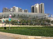 Hong Kong West Kowloon green place