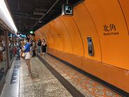North Point platform 26-09-2021