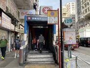 Yau Ma Tei Exit B2 11-08-2021