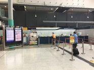 Hung Hom Intercity Through Train counter