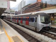 MLR train in Sha Tin Station East Rail Line 06-06-2015(2)