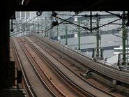 Rail south of KWF