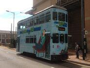 Hong Kong Tramways 88 Kennedy Town to Whitty Street Depot 2