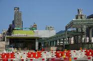 Chung Hau Street lift lobby of Ho Man Tin Station entrance and exit B2
