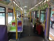 MTR Light Rail Phase 1 compartment 12-07-2015