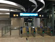 Hong Kong West Kowloon B3 entry gate 04-06-2019