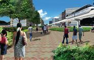 EFLS walkway