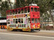 Hong Kong Tramways 83(052) North Point to Shek Tong Tsui 13-02-2021