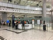 West Kowloon Ticket counter
