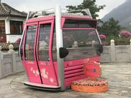 Ngong Ping 360 sample cable car for take photo 2