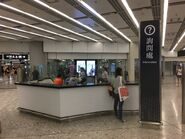 West Kowloon Information counter