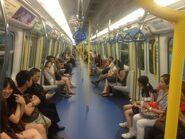 MTR West Rail Line H347 compartment