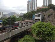 M Train Kwun Tong Line to Tiu King Leng 24-06-2015
