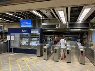 Sheung Shui Station entry gate 03-08-2021