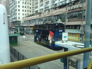 Hong Kong Tramways 81 Happy Valley to Kennedy Town 07-05-2015